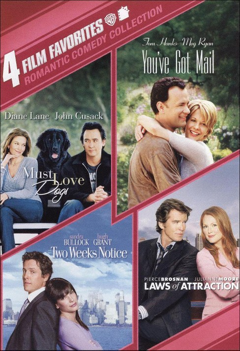 4 film favorites:Romantic comedy coll (DVD) - image 1 of 1