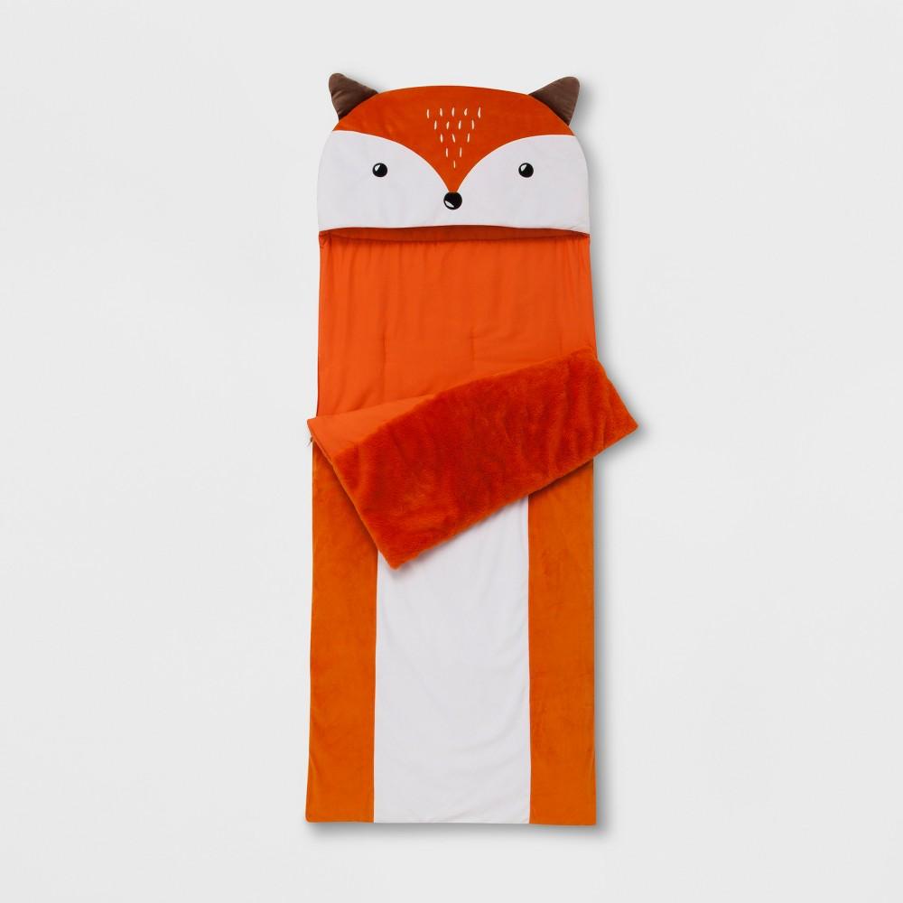 Fox Convertible Sleeping Bag - Pillowfort, Orange
