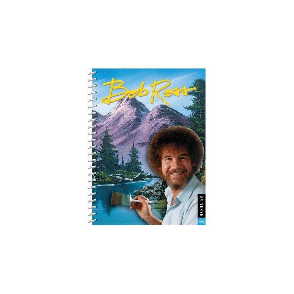 Bob Ross Agenda Undated Calendar - (Hardcover)
