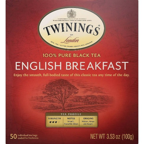 Twinings Classics Naturally English Breakfast Tea - 50ct - image 1 of 4