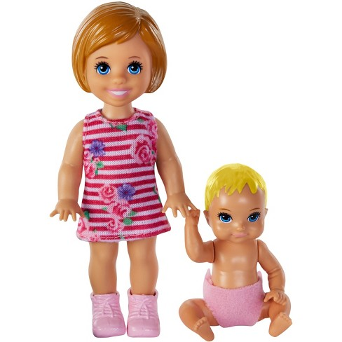 Blond Doll and Playset NEW Barbie Skipper Babysitters Inc
