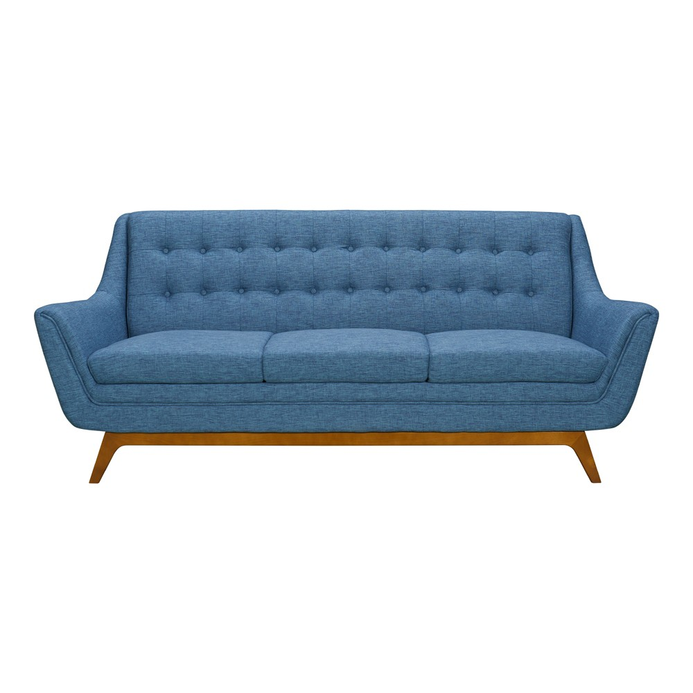 Image of Darna Mid-Century Sofa Blue - Modern Home
