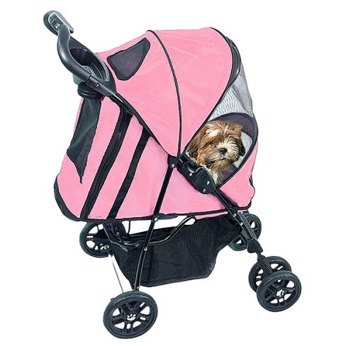 Dogs Gear Happy Trails Plus Stroller (Medium) - Pink Ice - image 1 of 1