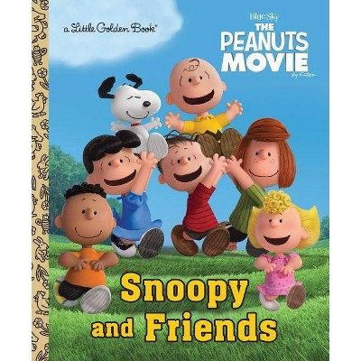 Snoopy and Friends - (Little Golden Book) (Hardcover)