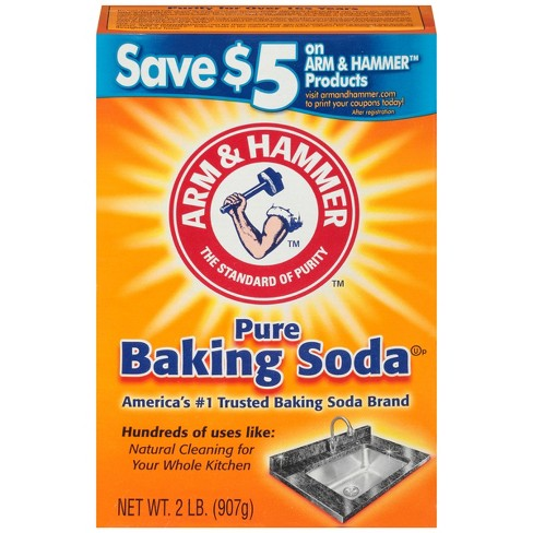 Arm & Hammer® Pure Baking Soda - 2lbs - image 1 of 3