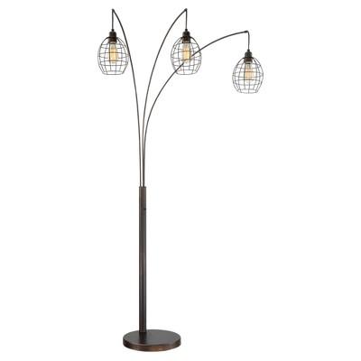 Kaden 3 Light Floor Lamp Copper Bronze (Includes CFL Light Bulb) - Lite Source