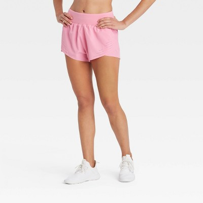 "Women's Run Shorts with Liner and Back Zip Pocket 2"" - JoyLab™"