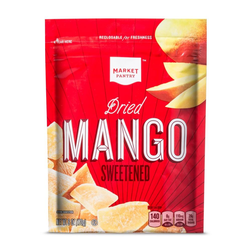 Dried Mangos - 6oz - Market Pantry, Orange