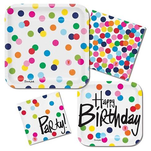 french bull birthday dots invitations 10 pk target