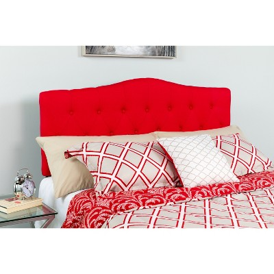 Flash Furniture Cambridge Arched Button Tufted Upholstered Headboard
