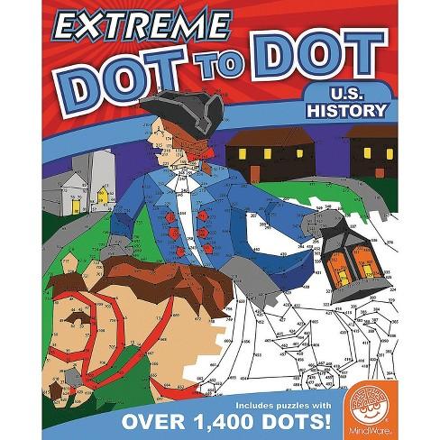 MindWare Extreme Dot To Dot: U.S. History - Brainteasers - image 1 of 4