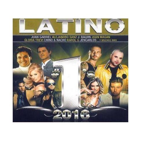 Various - Latino #1's 2016 (CD) - image 1 of 1