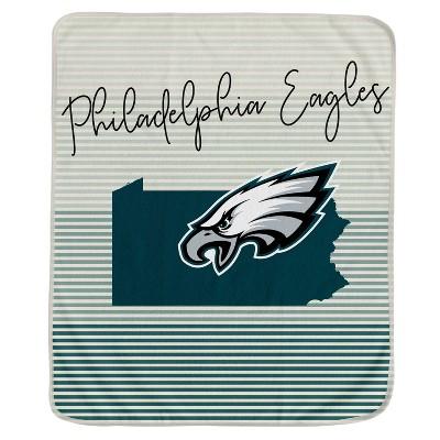 NFL Philadelphia Eagles Ultra Fleece State Stripe Blanket