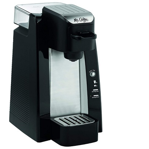 Mr. Coffee Convenient Versatile Single Serve K Cup/Ground Coffee Maker, Black - image 1 of 4