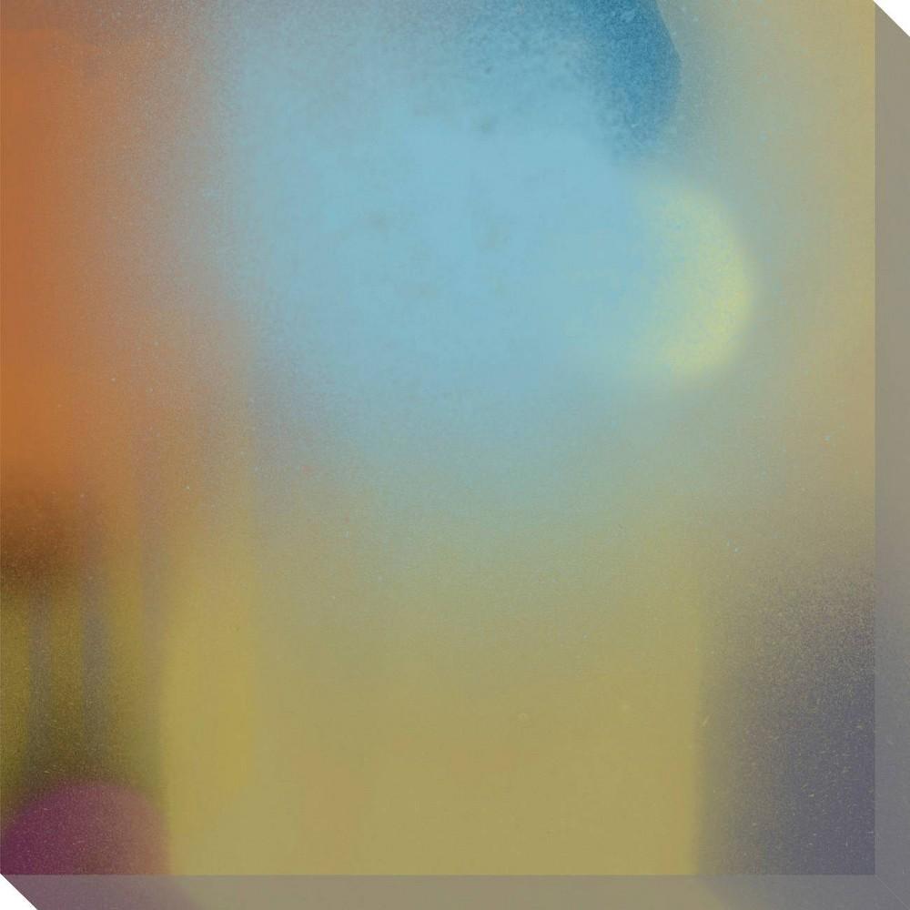 Image of Shifting Hues 6 Unframed Wall Canvas Art - (16X16)