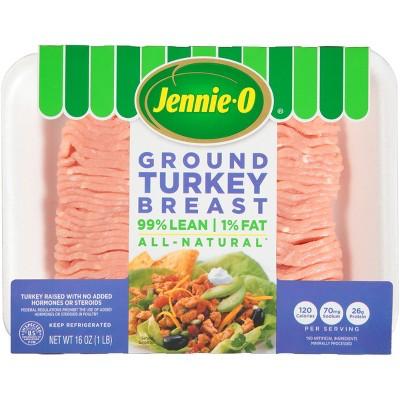 Jennie-O All-Natural 99/1 Ground Turkey Breast - 16oz