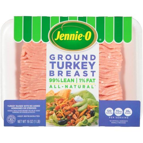 Jennie-O All-Natural 99/1 Ground Turkey Breast - 16oz - image 1 of 4