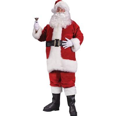Adult Premium Plush Santa Costume XL