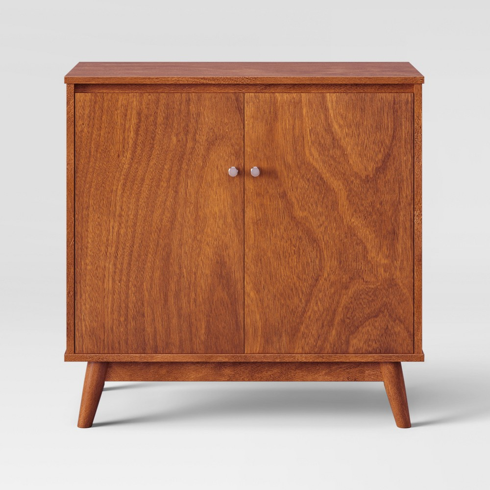 31 Amherst Mid Century Modern Storage Cabinet Brown - Project 62