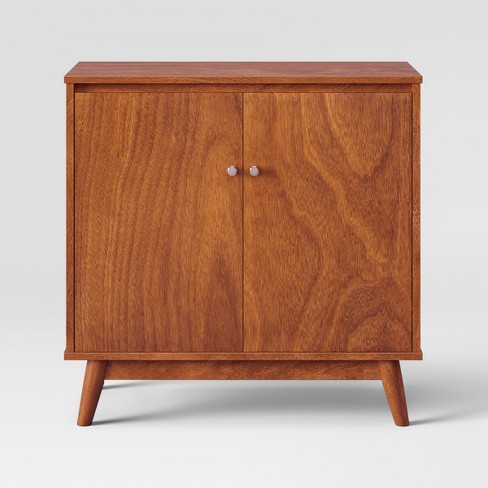 31 Amherst Mid Century Modern Storage Cabinet Brown Project 62