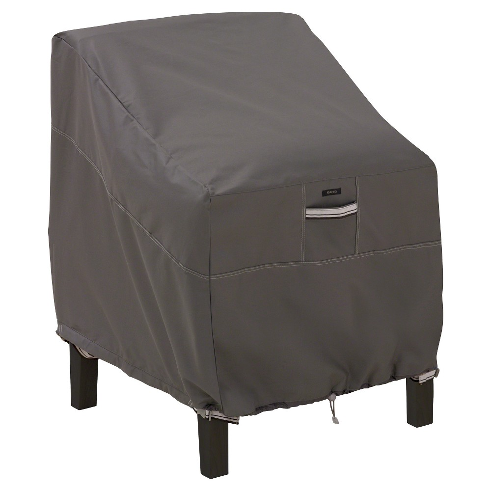 Image of Ravenna Patio Lounge Chair Cover - Dark Taupe - Classic Accessories