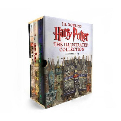 Harry Potter: The Illustrated Collection - by J K Rowling (Quantity Pack)