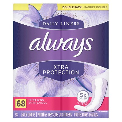 Always  Xtra Protection