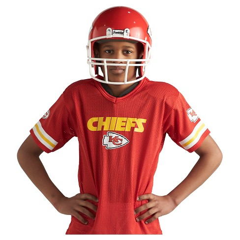 d62261e3f Franklin Sports NFL Kansas City Chiefs Deluxe Uniform Set   Target