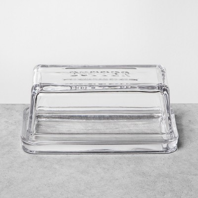Butter Dish Glass - Clear - Hearth & Hand™ with Magnolia