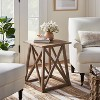 Copperton Wood X Base Accent Table - Threshold™ designed with Studio McGee - image 2 of 4