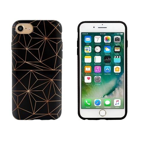 End Scene iPhone 8/7/6s/6 Case - Black Copper Geo - image 1 of 1