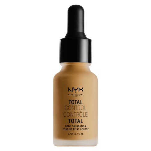 NYX Professional Makeup Total Control Drop Foundation - Tan Shades - 0.43 fl oz - image 1 of 2