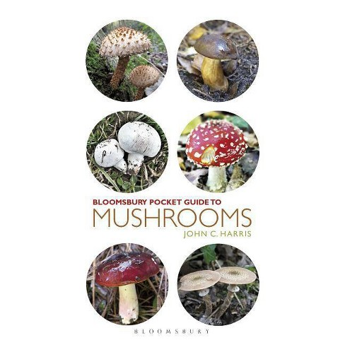 Pocket Guide to Mushrooms - (Pocket Guides) by  John C Harris (Paperback) - image 1 of 1