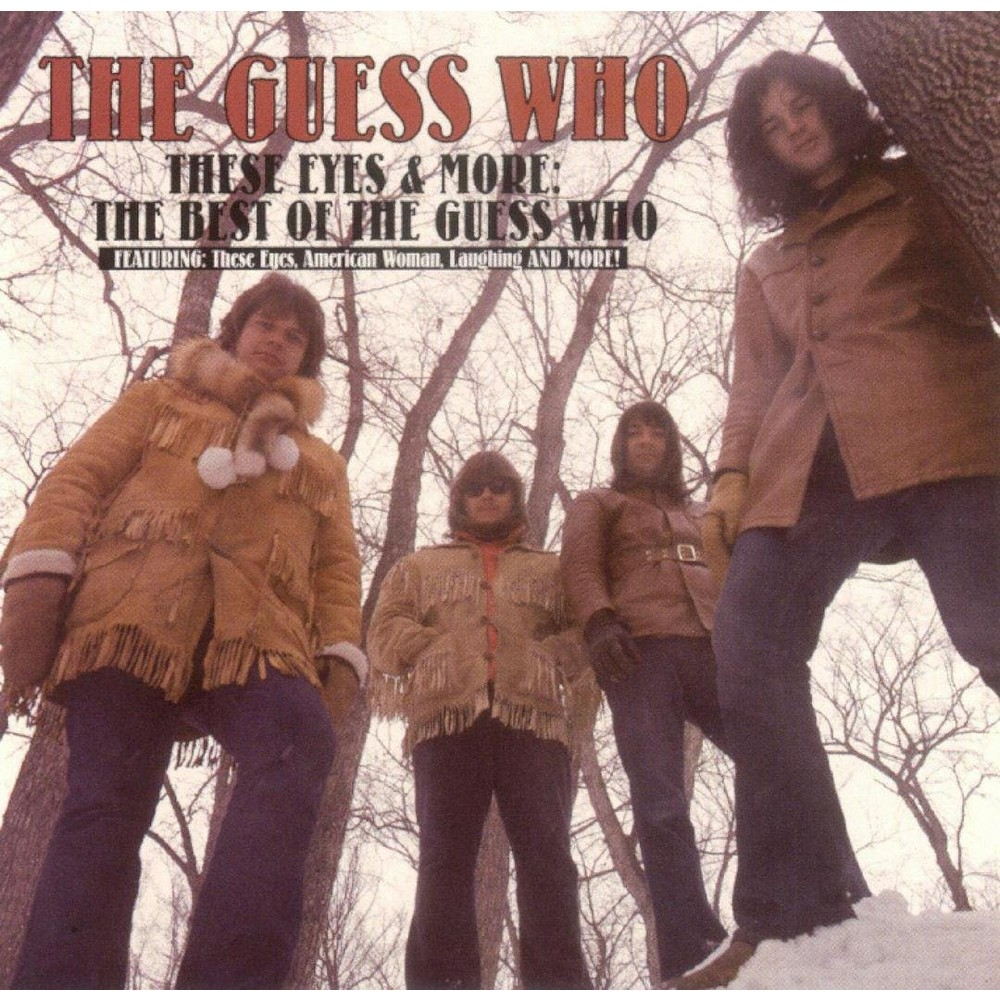 Guess who - These eyes & more:Best of the guess w (CD) Guess who - These eyes & more:Best of the guess w (CD)