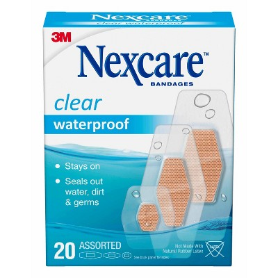 Nexcare Waterproof Bandages - Clear - Assorted Sizes