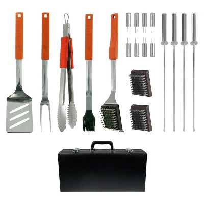 Mr. Bar-B-Q 20 Piece Grill Tool Set with Case