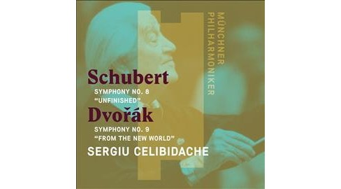 Sergiu Celibidache - Schubert:Symphony No 8 Unfinished (CD) - image 1 of 1