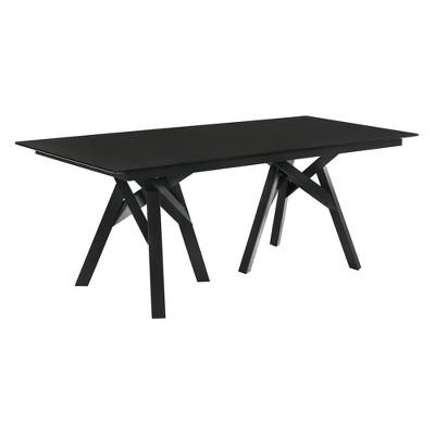 "79"" Cortina Mid-Century Modern Dining Table - Armen Living"