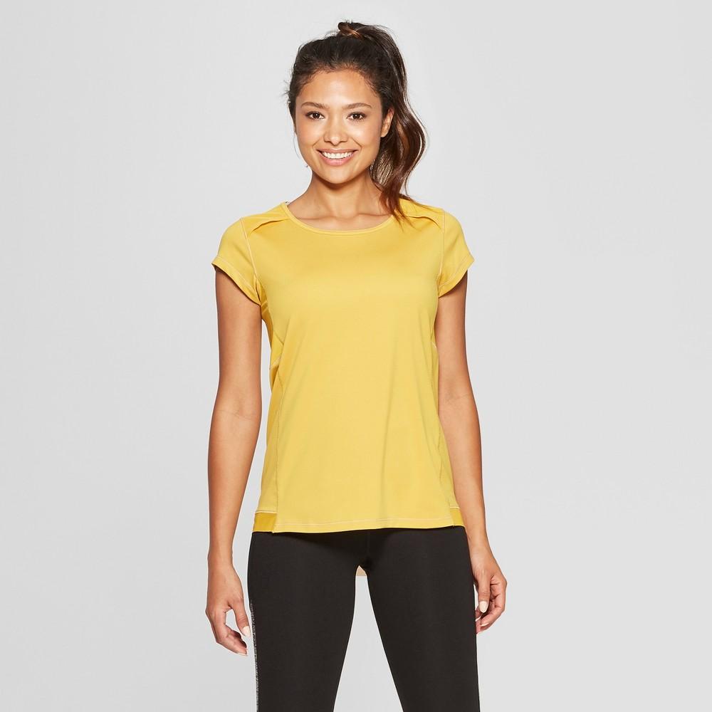 Women's Short Sleeve Running T-Shirt - C9 Champion Gold M