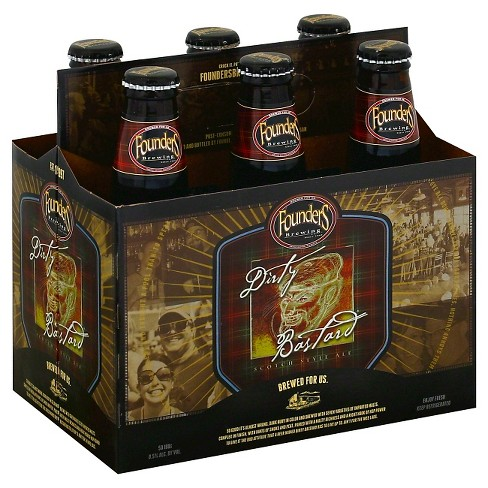 Founders Dirty Bastard Scotch Style Ale Beer - 6pk/12 fl oz Bottles - image 1 of 1