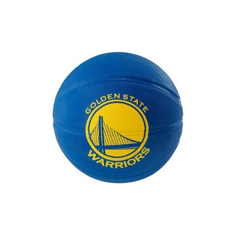 cb7fcb6754e NBA Golden State Warriors Spalding Mini Ball Size 3 Rubber Basketball