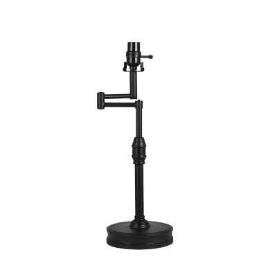 Large Swing Arm Oil Rubbed Lamp Base Black - Threshold™
