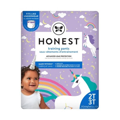 The Honest Company Training Pants Unicorns - Size 2T-3T (26ct)