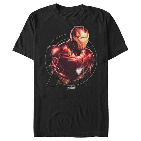Marvel Men's Avengers Endgame Iron Man Portrait T-Shirt - image 1 of 1