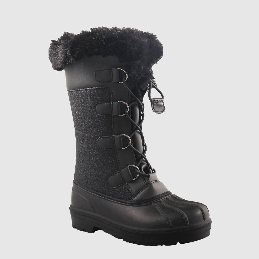 Image of Girls' Constance Winter Boots - Cat & Jack Black 13, Girl's