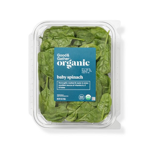 Organic Baby Spinach - 5oz - Good & Gather™ - image 1 of 3