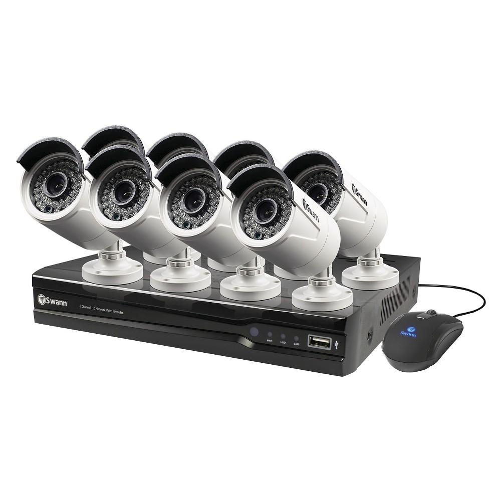 Swann 4400 SWDVR-84400H-US Swann 8 Channel 720p HD Home Security DVR 1TB HDD