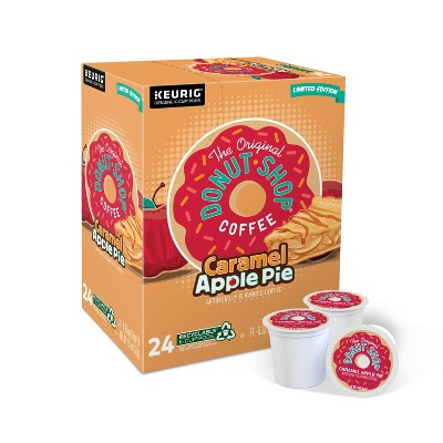 24ct The Original Donut Shop Caramel Apple Pie Keurig K-Cup Coffee Pods Flavored Coffee Medium Roast