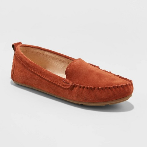 Women's Casey Moccasin Flat Shoes - Universal Thread™ Cognac - image 1 of 4