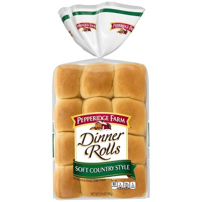 Pepperidge Farm Soft Country Style Dinner Rolls - 13.9oz/12ct
